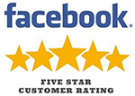 Facbook Reviews - 5 Stars